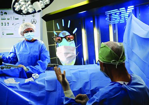 orthopaedic surgeon enters operating room