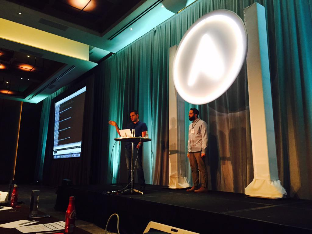 Ansiblefest ansible on docker containers microservices for Docker with consul