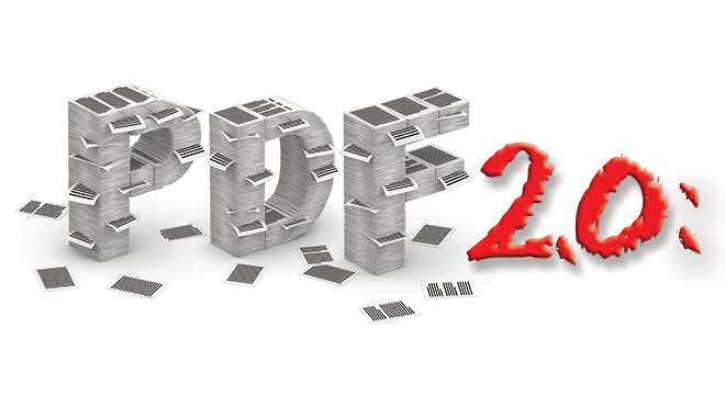 PDF 2.0, stylized
