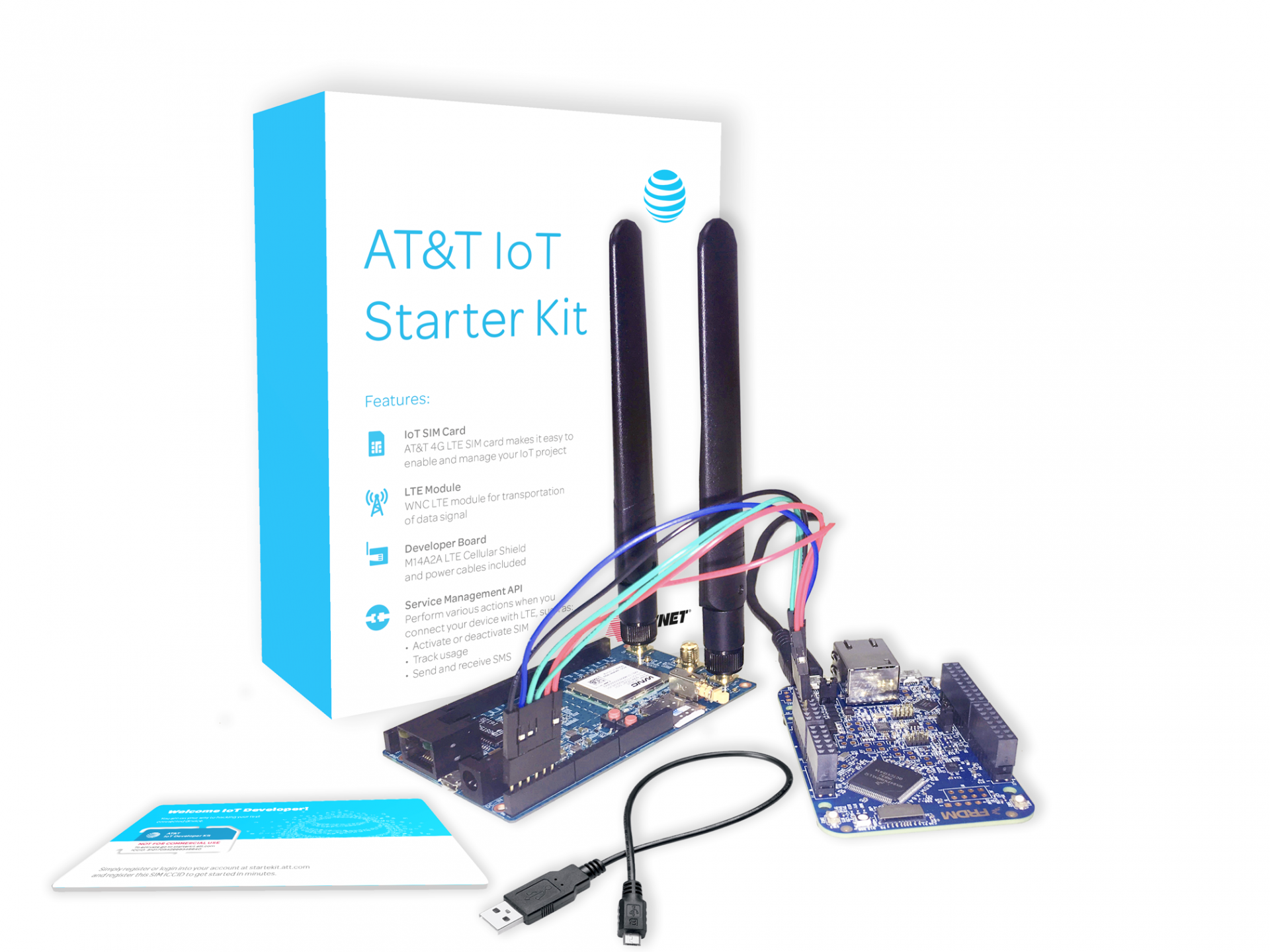 AT&T Pushes For IoT With IBM Partnership And Starter Kit