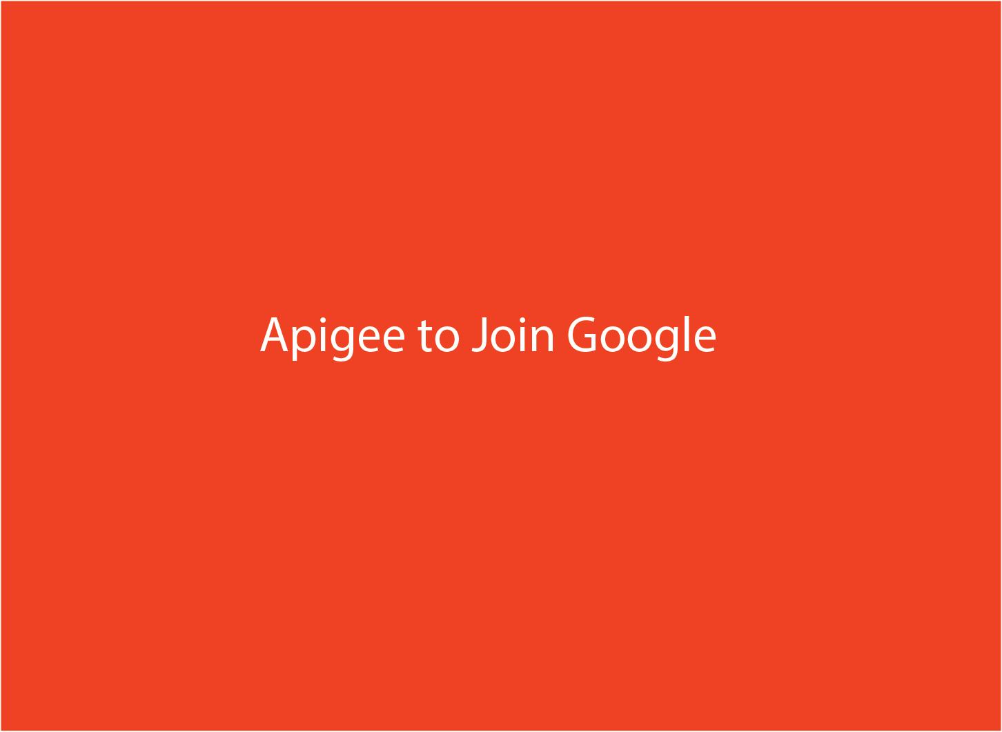 Google buys API management company Apigee - SD Times