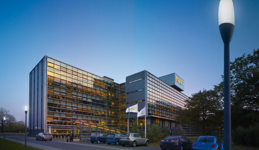 NXP world headquarters. Photo by Rens van Miero.