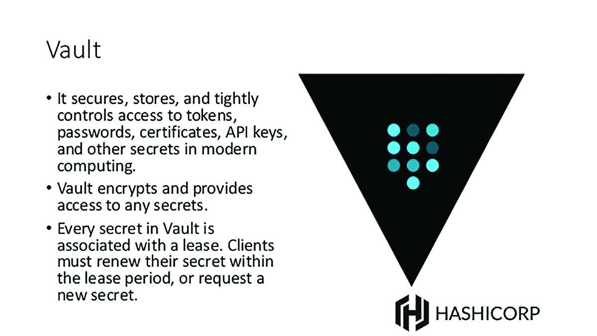 Ten project tools that every development team could use for Vault hashicorp