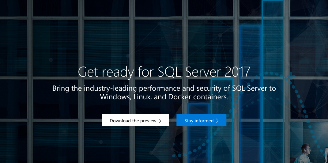 Microsoft's SQL Server 2017 RC1 now available - SD Times