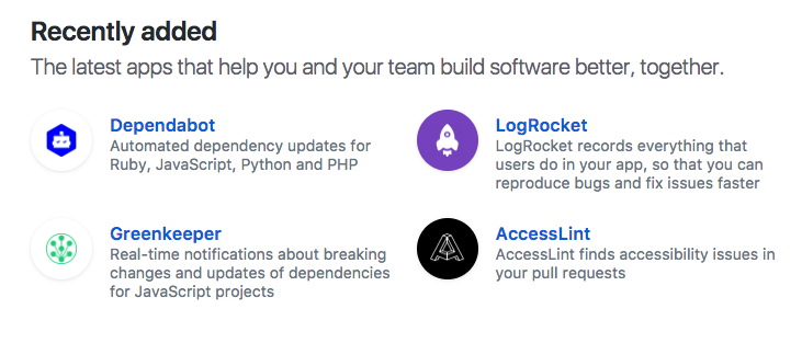GitHub Marketplace launches four new apps - SD Times