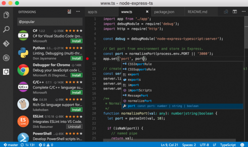 Microsoft lays out plans for VS Code in 2018 - SD Times