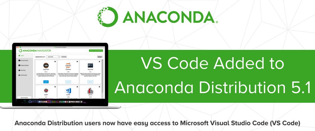 Visual Studio Code will now ship with Anaconda - SD Times