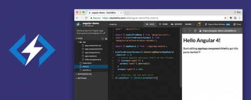 SD Times GitHub Project of the Week: StackBlitz - SD Times