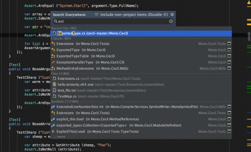 Productive, cross-platform  NET development with JetBrains Rider