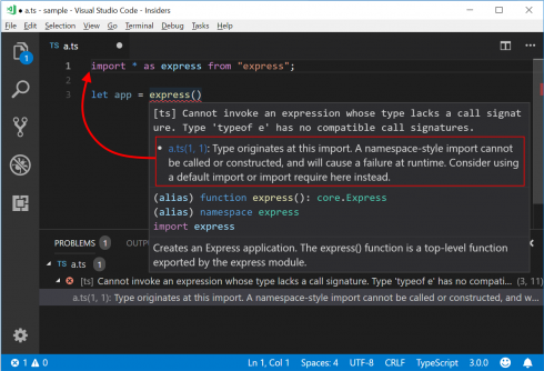 Microsoft introduces project references in TypeScript 3 0 - SD Times