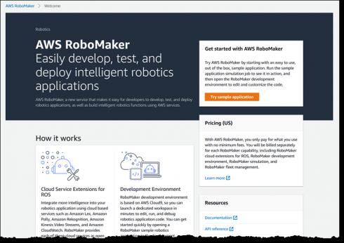 Aws Introduces New Developer Service For Building Robotics