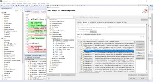 Parasoft integrates automotive code compliance standard ...