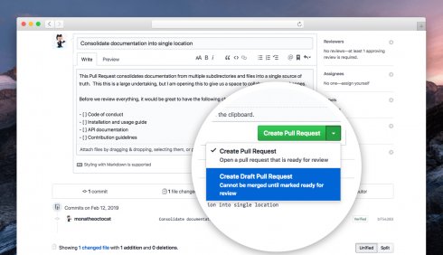SD Times news digest: GitHub's draft pull requests, ARCore 1 7, and