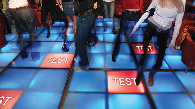 Continuous testing at every step