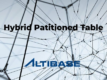 Altibase Hybrid Partitioned Table