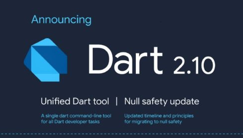 Dart 2.10 released with new unified developer tool