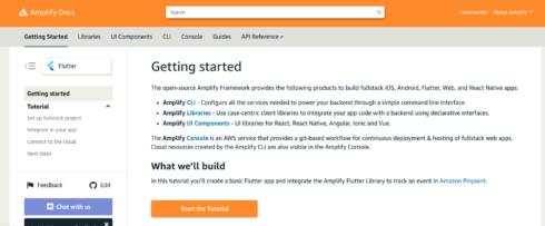 Amazon launches Amplify Flutter for building cross-platform apps