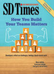 SD Times April 2021 cover