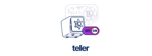 Logo for open-source project Teller
