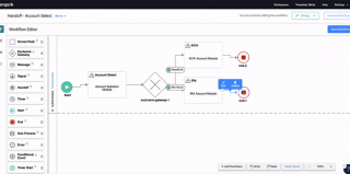Workflow Editor in Unqork
