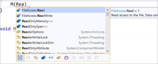 IntelliSense completion for Enums available in Visual Studio 2019 v16.10 GA