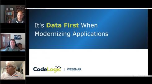 Take a data-first approach to modernization