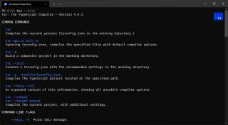 Updated --help in TypeScript 4.4
