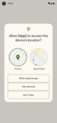 Greater control over location data in Android 12